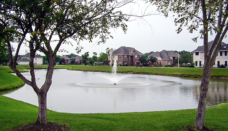Floating Lake Fountain